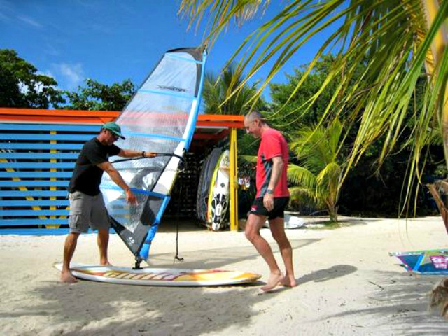 ABK boardsports windsurf camps lessons Andy Brandt