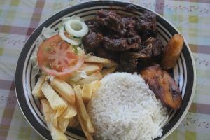 goat stew from maiky snack cabritu stoba