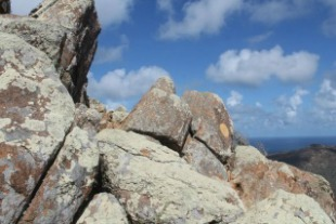 hiking mount brandaris in Washington Slagbaai national park bonaire