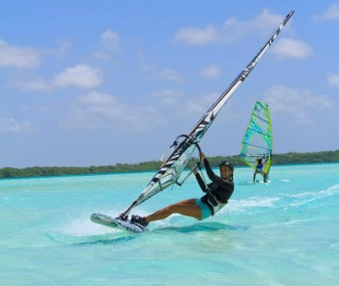 windsurfing lessons sorobon lac bay vacation rentals