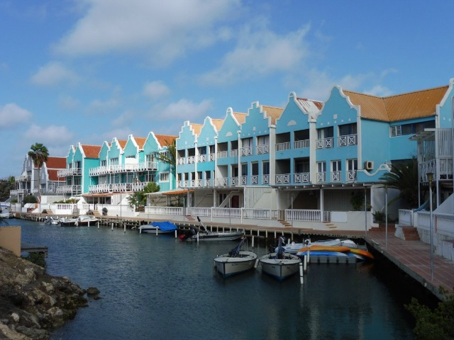 dutch architecture caribbean colors bonaire kralendijk